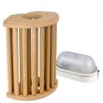 Sauna lamps SAWO LAMP AND LATTICE SET 914-VD, CEDAR