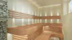 Modulare Elemente für Saunabank ECKMODUL, ERLE, 400x400mm