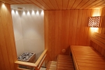 Sauna bench materials ALDER BENCH WOOD SHP 28x90x1800-2400mm