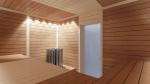 Sauna Profilholz ESPE PROFILHOLZ STP 15x125mm 1500-2400mm