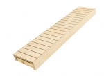 Éléments modulaires pour banc de sauna FINI MODULE, TREMBLE, 140x400x1600-2400mm