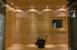 Sauna LED Beleuchtung SAUNA LED BELEUCHTUNG MOON GOLD