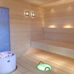 Sauna buckets, pails, basins Sauna LED light Sauna light Miscellaneous CARIITTI LED ILLUMINATED BOWL 5,0 L