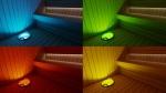 Sauna LED Beleuchtung SAUFLEX SAUNA-EIMER MIT RGB-LED-BELEUCHTUNG 5L