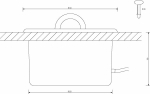 Glasfaseroptik Beleuchtung für sauna Sonstiges CARIITTI SCHÜSSEL 5,0 L