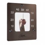 Fiber optic lighting for sauna CARIITTI HYGROMETER SQ