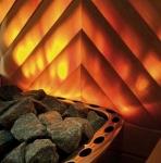 Fiber optic lighting for sauna CARIITTI FIRE FLAME SET