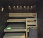 Fiber optic lighting for sauna CARIITTI SAUNA LIGHTING SETS VPAC-1527-F325