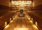 Valokoidut sauna varten CARIITTI SAUNAVALAISTUSSARJAT VPAC-1527-F335