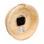 Sauna sand timers SAWO WOODEN PAIL-CLOCK 530