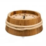 SAWO WOODEN PAIL-CLOCK 530