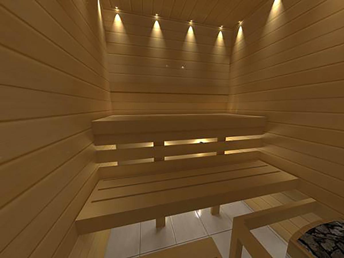 Diy Sauna Module Kit 1500 X 1500 Mm Saunainter Com