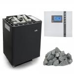 EOS Sauna poêles électriques Kits de poêles électriques combi UNA POÊLES ÉLECTRIQUE KIT EOS BIO-THERMAT EOS BIO-THERMAT KIT - STANDART