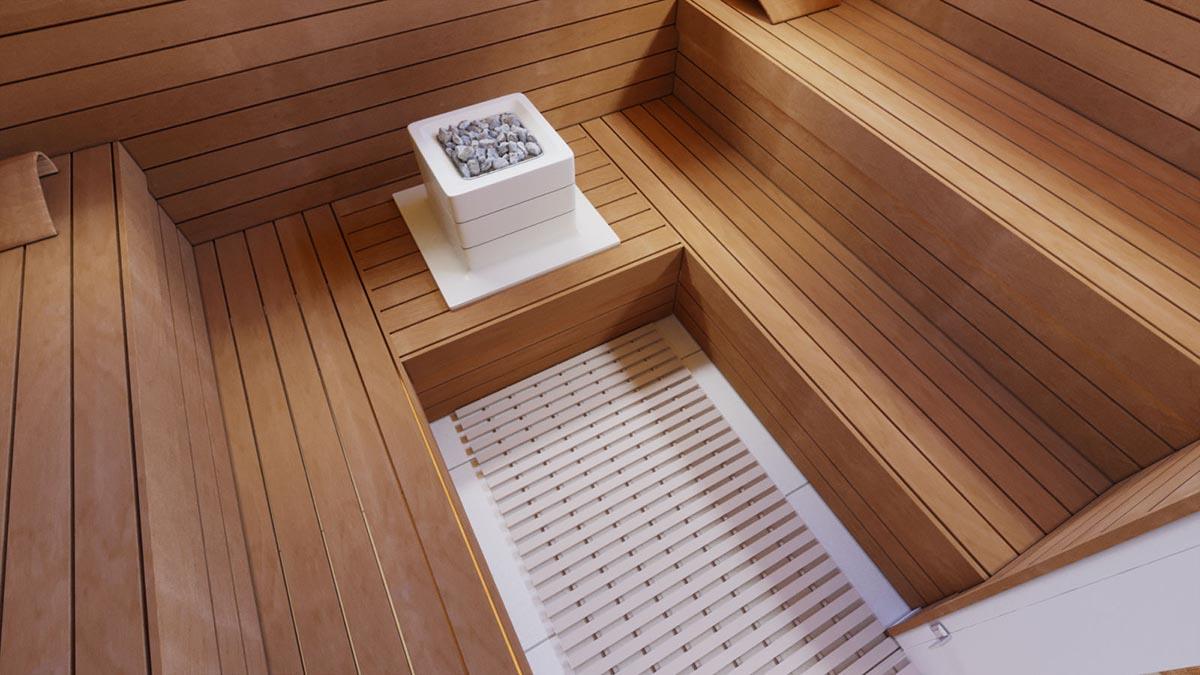 Bodenbelag Fur Sauna 60cm Beige Saunainter Com