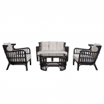 Sets Tables GARDEN FURNITURE SET HAMPTON
