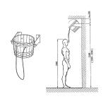 Shower bucket Shower bucket OUTLET DOUSING BUCKET