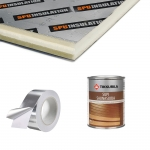 Kits de construction de sauna 2 KIT DE CONSTRUCTION 2 - SAUNA PREMIUM, AULNE