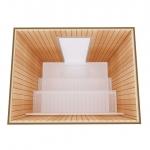 Kits de construction de sauna 2 KIT DE CONSTRUCTION 2 - SAUNA STANDART, AULNE