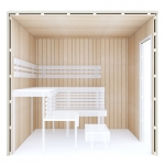 Kits de construction de sauna 2 KIT DE CONSTRUCTION 2 - SAUNA OPTIMAL, TREMBLE