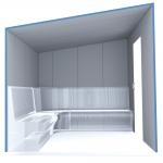 Kits de construction de sauna à vapeur 2 KIT DE CONSTRUCTION - SAUNA À VAPEUR PREMIUM