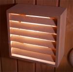 Sauna Lampenschirme HOLZBLENDSCHIRM GALLO
