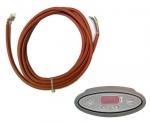 Harvia el. sauna heater spare parts Spare parts for el. heaters Harvia HARVIA CILINDRO EE CONTROL UNIT DATA CABLE 5m, WX-251 HARVIA CILINDRO EE SPARE PARTS