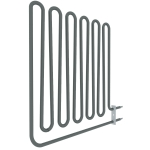 Sauna spare parts Heating elements for sauna heaters Harvia el. sauna heater spare parts HARVIA HEATING ELEMENTS ZSB-462 2750W/230V HARVIA HEATING ELEMENTS
