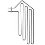 Harvia elektrikeriste varuosad Harvia elektrikeriste varuosad Elektrikeriste varuosad Kütteelemendid sauna keristele HARVIA KÜTTEELEMENDID ZSF-30 2000W/230V HARVIA KÜTTEELEMENDID