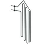 Harvia el. Saunaofen-Ersatzteile Ersatzteile für elektrische Heizungen Harvia Ersatzteile Heizelemente für Öfen HARVIA HEIZELEMENTE ZSF-50 3000W/230V HARVIA HEIZELEMENTE