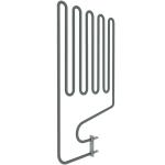 Harvia el. sauna heater spare parts Spare parts for el. heaters Harvia Sauna spare parts Heating elements for sauna heaters HARVIA HEATING ELEMENTS ZSP-240 2150W/230V HARVIA HEATING ELEMENTS