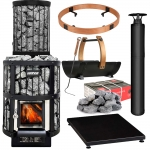 Woodburning stoves kit HARVIA LEGEND 150/240 KIT - PREMIUM