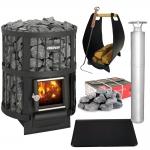 Woodburning stoves kit HARVIA LEGEND 150/240 KIT - OPTIMAL
