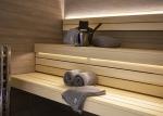 Sauna tekstiili Vaatteita saunaan HARVIA SAUNA PYYHE BY LUHTA 75х150cm