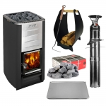 Woodburning stoves kit Sauna kit offers HARVIA M3 KIT - STANDARD