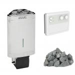 HARVIA Sauna poêles électriques Kits de poêles électriques combi HARVIA DELTA COMBI KIT - STANDART