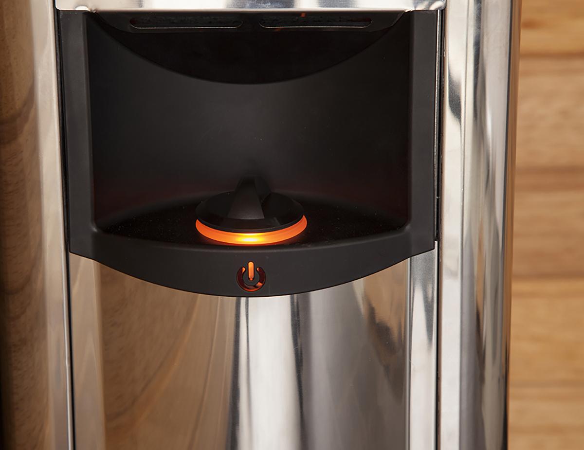 Saunaofen gas