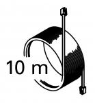 Harvia sähkökiukaiden varaosat Varaosat sähkölämmittimiin Harvia HARVIA FORTE -KIUKAAN TIETOJENSIIRTOKAAPELI 10m, WX315 HARVIA FORTE -KIUKAAN VARAOSAT