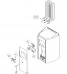 Harvia el. Saunaofen-Ersatzteile Ersatzteile für elektrische Heizungen Harvia HARVIA VEGA COMPACT THEROSTAT KNOPF ZSB-115 HARVIA VEGA COMPACT ERSATZTEILE