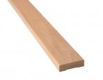 Sauna Holzleisten ABDECKLEISTE, ERLE, 12x42x2400mm