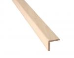 Sauna Holzleisten ECKLEISTE, ESPE, 28x28x2400mm