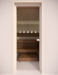 Sauna Holzleisten Holztürleisten TÜRLEISTEN GEPÄCK, ESPE, 12x42mm