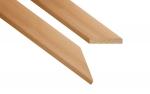 Sauna Holzleisten Holztürleisten TÜRLEISTEN GEPÄCK, ERLE, 12x42mm