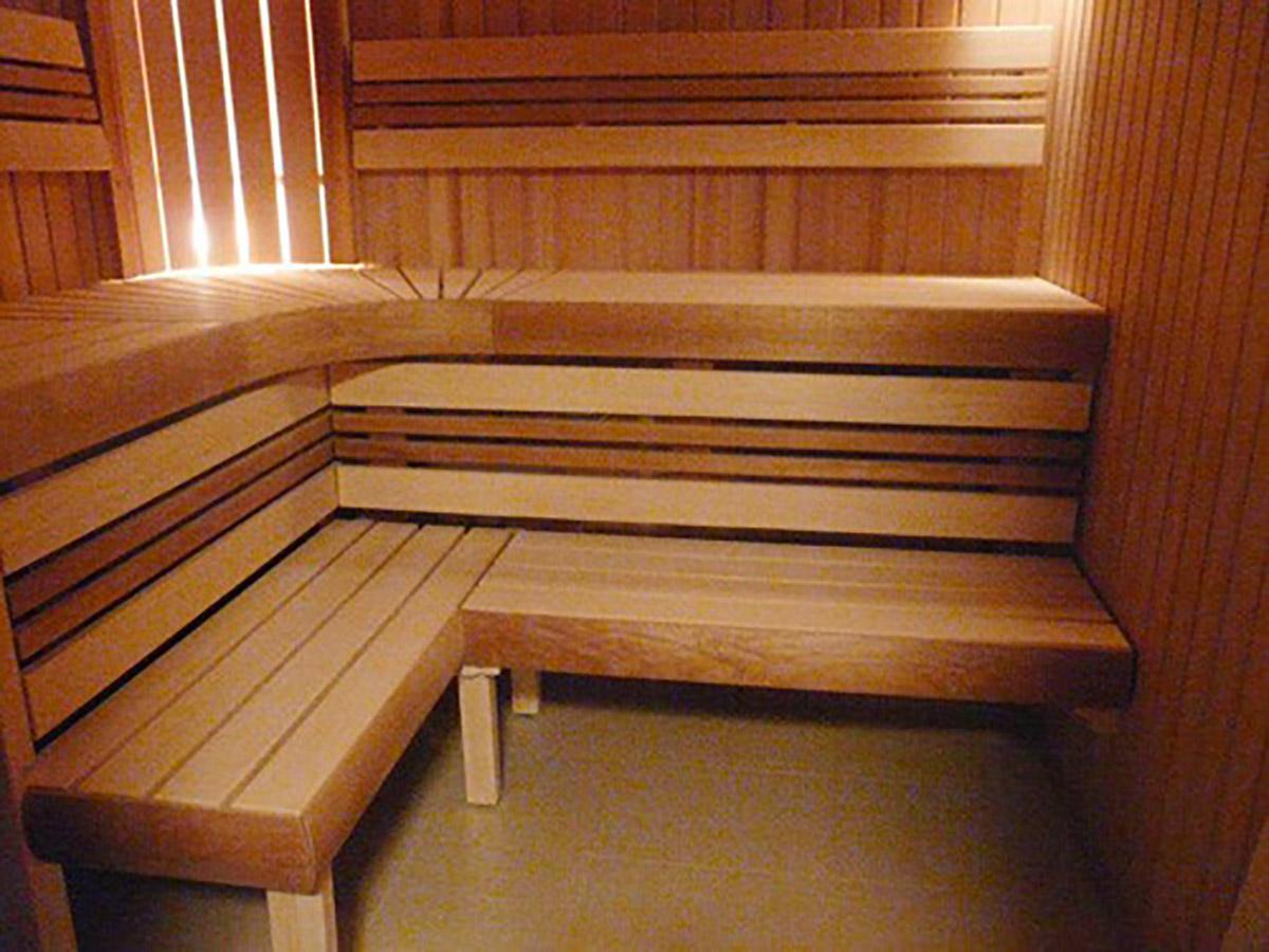 Saunabank Bein Espe Erle Thermo Espe 600 1200mm 600 Mm Espe