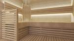 Modulare Elemente für Saunabank ARMLEHNE, ESPE, 20x600x1300mm