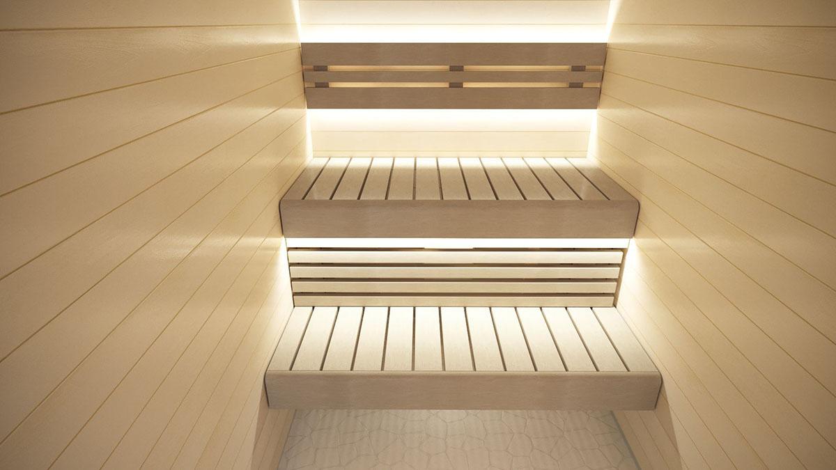 r ckenlehne kit mit led beleichtung 210cm espe. Black Bedroom Furniture Sets. Home Design Ideas