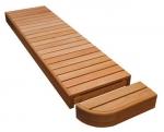 Modulare Elemente für Saunabank MODUL ENDE, THERMO ESPE, 600mm