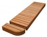 Modulare Elemente für Saunabank MODUL ENDE, THERMO ESPE, 400mm