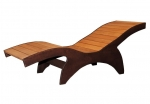 OUTLET Sauna stool ASPEN DECKCHAIR 620x1931x730mm SAUNA SEAT VIP