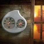 Sauna Thermo- und Hygrometer DUO HUKKA MAININKI