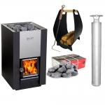Sauna kit offers Woodburning stoves kit HARVIA 16 KIT - STANDARD